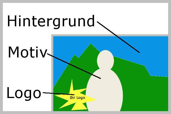 Overlay Motiv Hintergrund