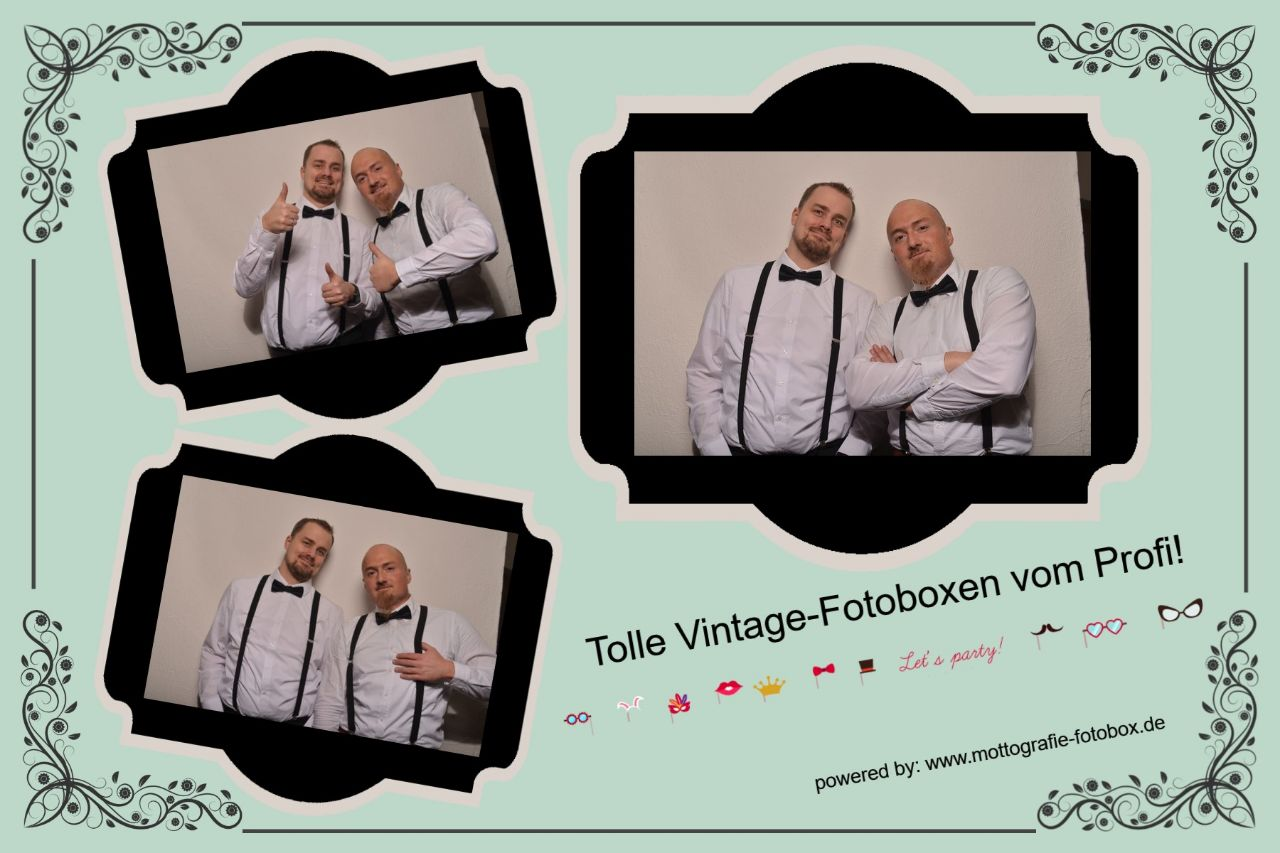 Fotobox Layout Vintage